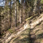 Der Abstieg in die Klamm ©Gipfelfieber