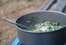 Schnelle Outdoor-Küche: Bärlauch-Risotto ©Gipfelfieber