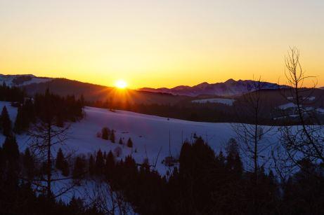 Sonnenuntergang am Geigelstein ©Gipfelfieber