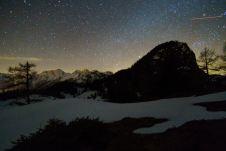 Nachthimmel am Thällerer Kogel ©Gipfelfieber