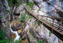 Wasser marsch! Wandern durch die Bärenschützklamm ©Gipfelfieber
