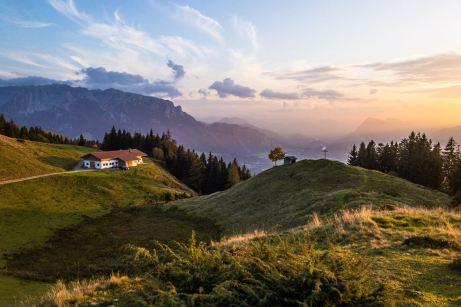 Karspitze und Zahmer Kaiser ©Gipfelfieber