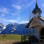 Kapelle & Wilder Kaiser ©Gipfelfieber