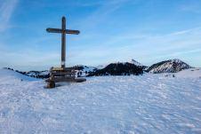 Gipfelkreuz vom Brennkopf ©Gipfelfieber
