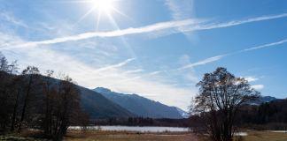 Zwischen Winter und Frühling: Rund um den Bärnsee im Chiemgau ©Gipfelfieber