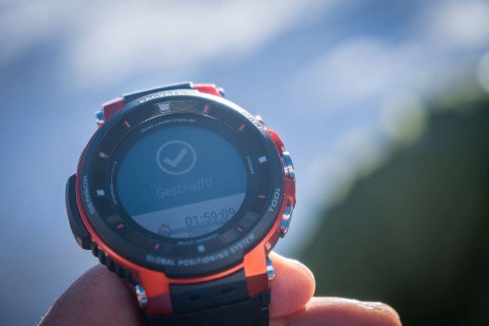Casio Pro Trek WSD-F30 Outdoor-Smartwatch: Evolution am Handgelenk ©Gipfelfieber