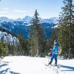 Casio Pro Trek WSD-F30 beim Schneeschuhwandern ©Gipfelfieber