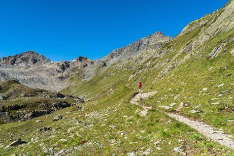Aufstieg zum Flüela Schwarzhorn ©Gipfelfieber
