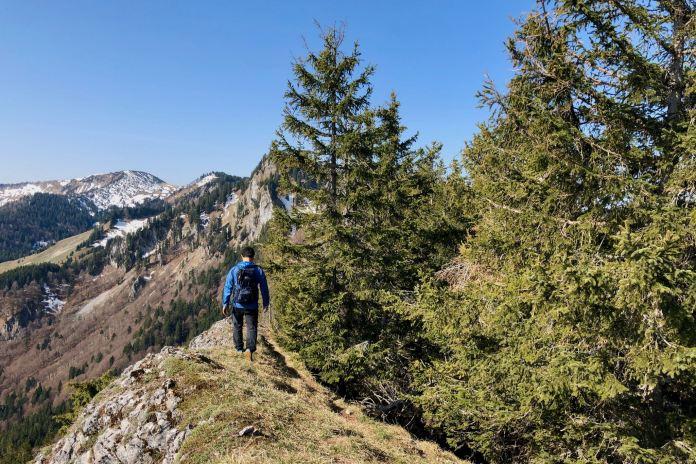 Luftige Runde am Grat: Über Zellerhorn und Zellerwand zum Laubenstein