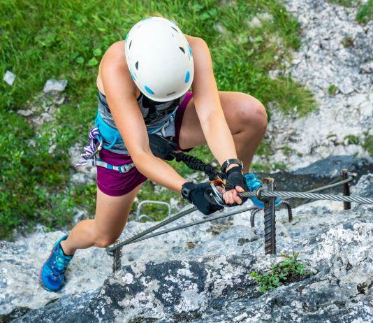 7 Sportklettersteige in den Alpen, die alles abverlangen ©Gipfelfieber