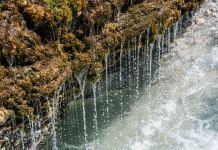 Vorhang aus Wassertopfen ©Gipfelfieber