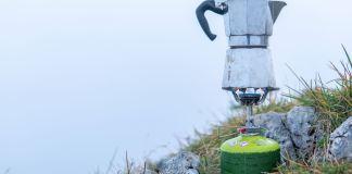 Fliegengewichte im Test: Soto Amicus Kocher & Thermostack Topfset ©Gipfelfieber