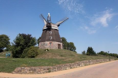 Windmühle in Woldegk ©Gipfelfieber