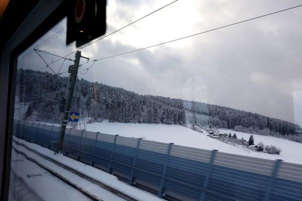Zugstrecke Berlin-München: Berlin und die Berge rücken ein bisschen zusammen