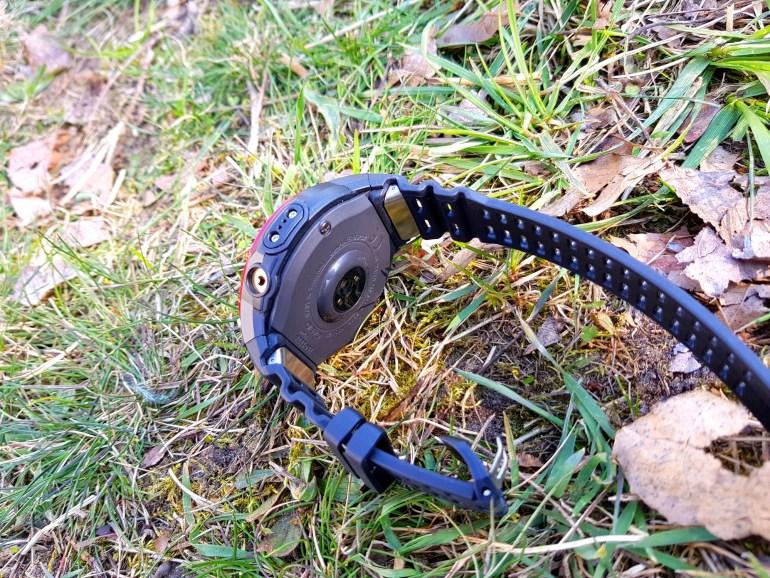 Sensoren der Casio Pro Trek WSD-F21HR Smartwatch