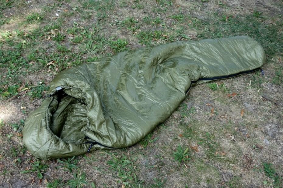 Cumulus Intense Schlafsack mit durchgehendem Reißverschluss an einer Seite