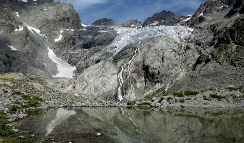 Glacier Blanc und Barre des Écrins