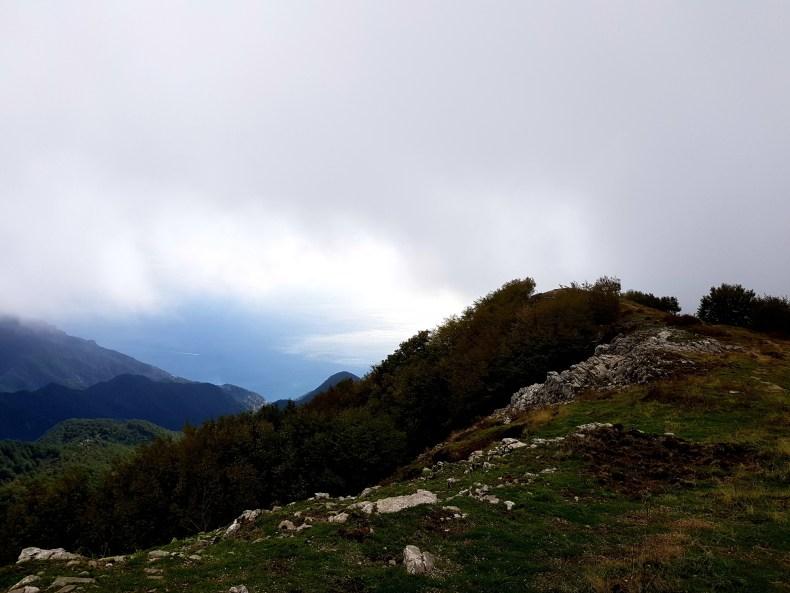 Blick aufs Meer vom Monte Cerreto