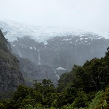Wanderung zum Rob Roy Glacier