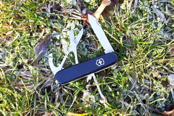 Braucht man zum Wandern ein Taschenmesser?