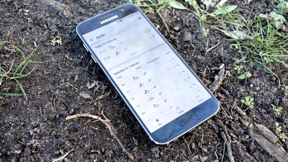 Wettervorhersage? Mit der kostenlosen Yr Wetter-App.