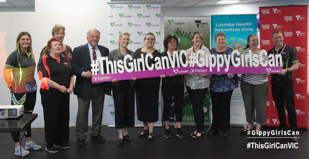 LATROBE VALLEY #THISGIRLCANVIC & #GIPPYGIRLSCAN LAUNCH