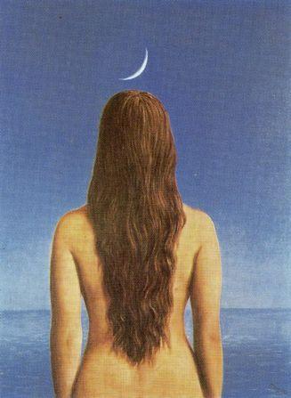 Rene Magritte : La robe du soir