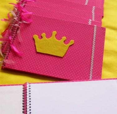 Caderno de Desenho das Princesas