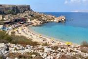 Paradise Bay beach Malta