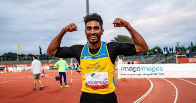 Sprinter Yupun Abeykoon sets new Sri Lanka & South Asia 100m record in Germany