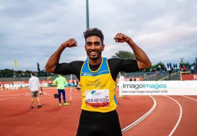 Sprinter Yupun Abeykoon sets new Sri Lanka & South Asia 100m record in Germany