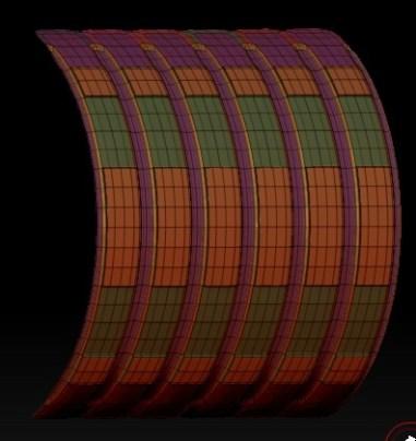 20140226_D  Create3D ZBrush4R6 machanic surface part1208