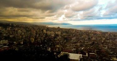 Boztepe'den Trabzon