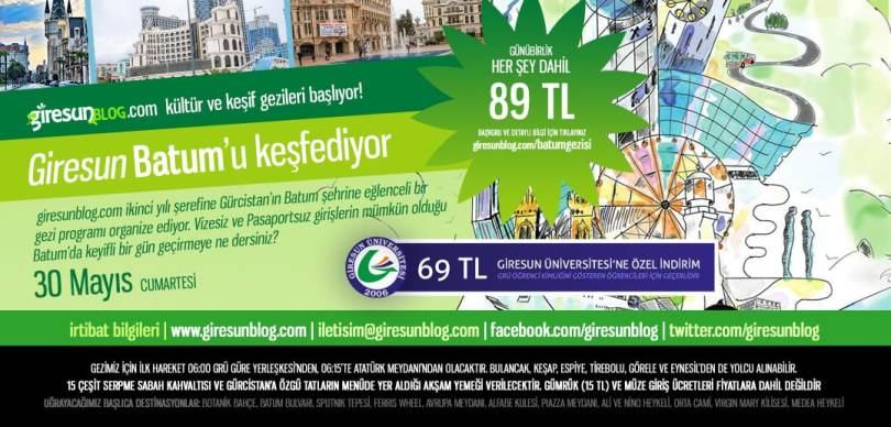Giresun Blog Batum Gezisi