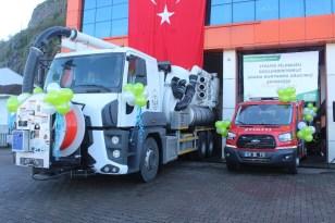 Giresun Belediyesi 2 yeni aracı bünyesine kattı