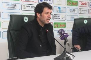 Giresunspor – Balıkesirspor maçının ardından