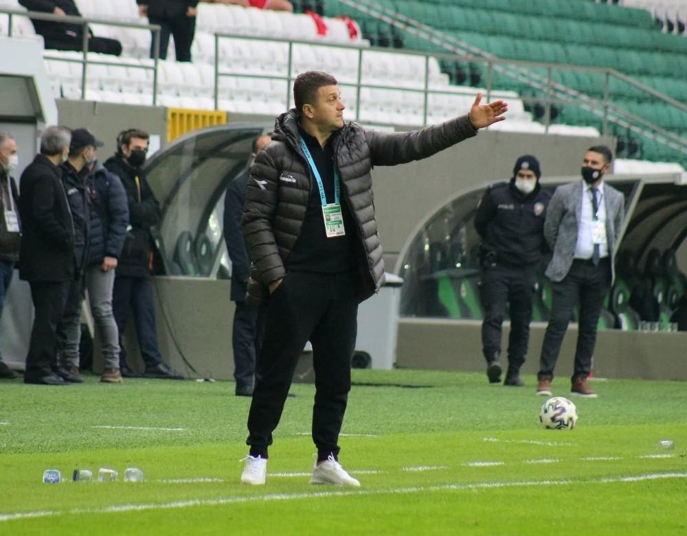 Teknik Direktör Hakan Keleş, Balıkesirspor ile oynadıkları maçı değerlendirdi