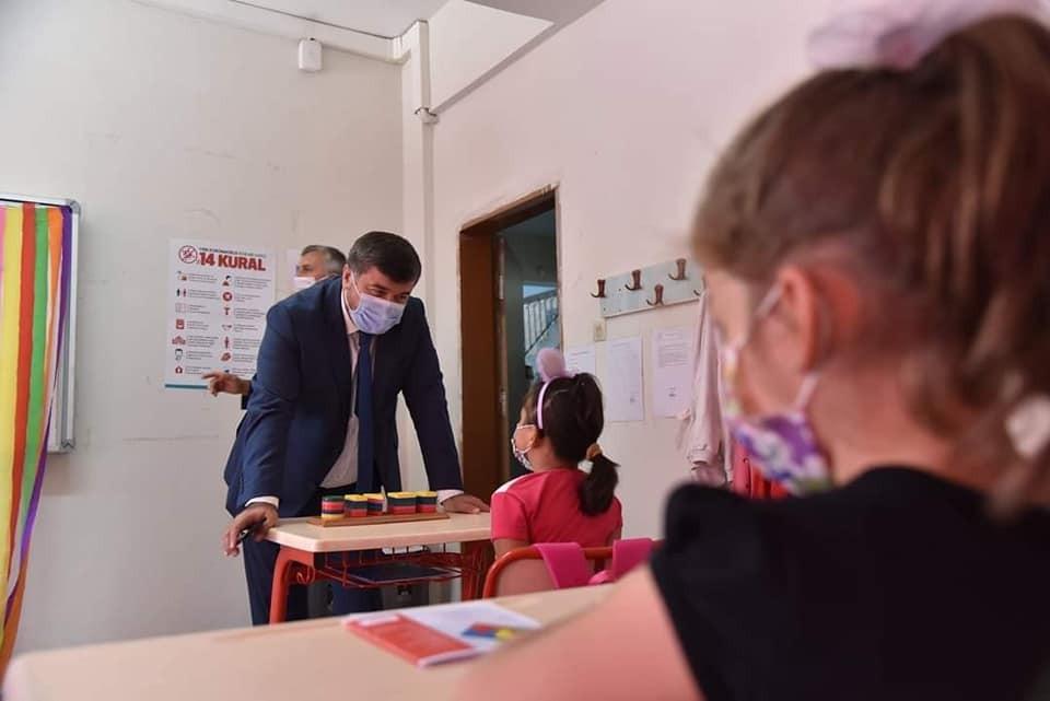 Giresun'daki okullar dezenfekte edildi