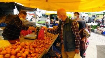 Doğu Karadeniz'in en fazla vaka görülen ilinde semt pazarı sevinci