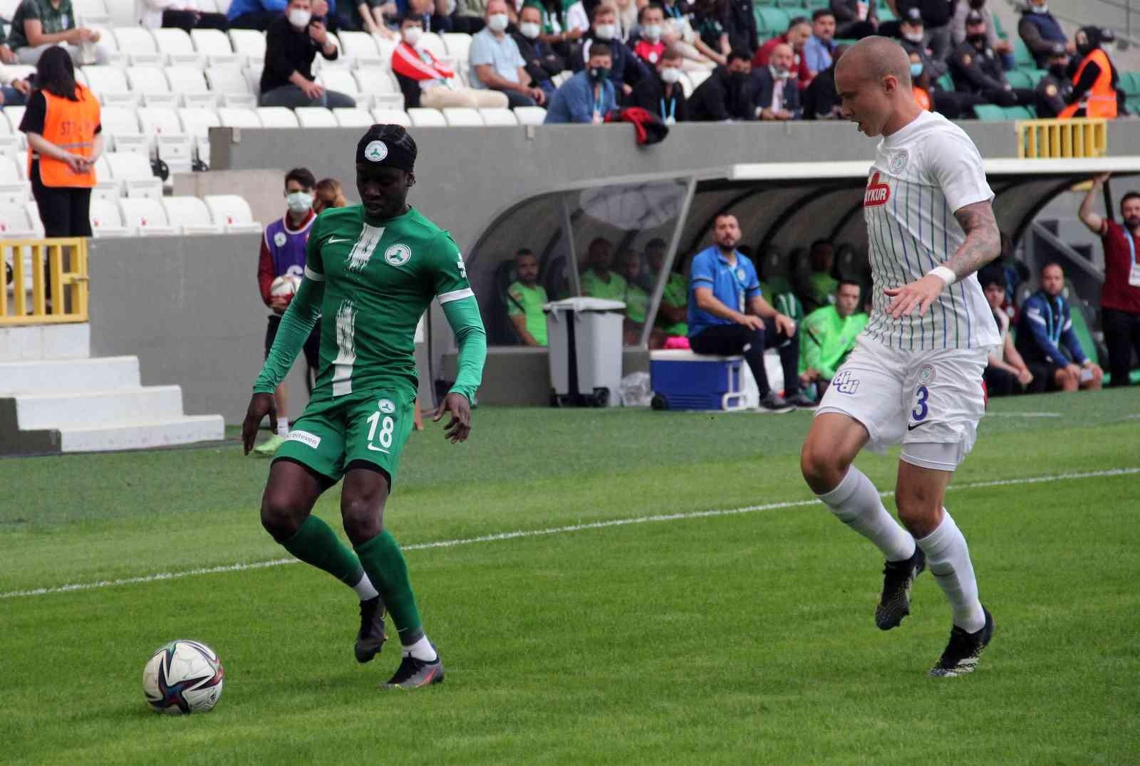 Süper Lig: GZT Giresunspor: 2 – Çaykur Rizespor: 0 (Maç sonucu)