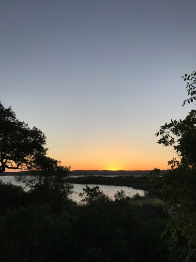 Sunset over Lake Buchanan