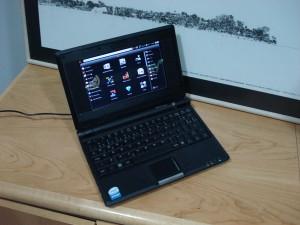 Ubuntu-eee no meu eeePC