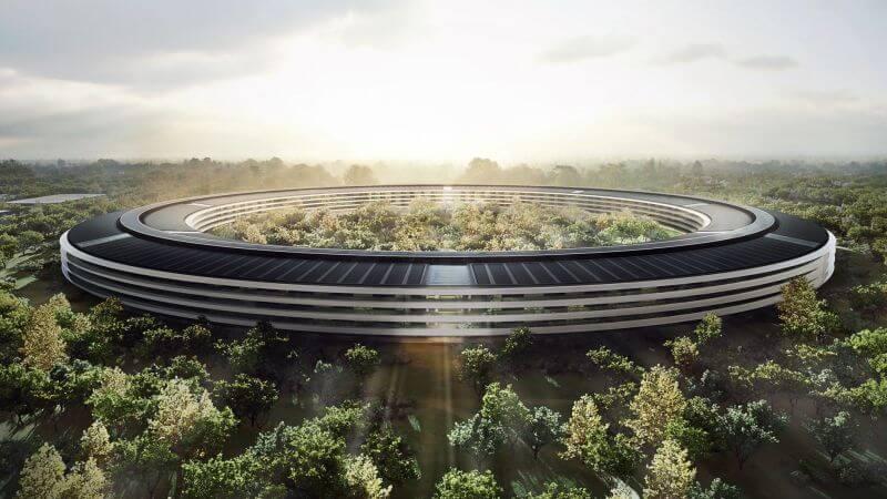 Apple'ın büyük merak uyandıran kampüsü Apple Park açılıyor!