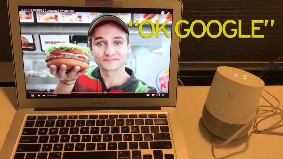 Burger King'in Google'ı Kızdıran Reklamı En Prestijli Ödülü Aldı!