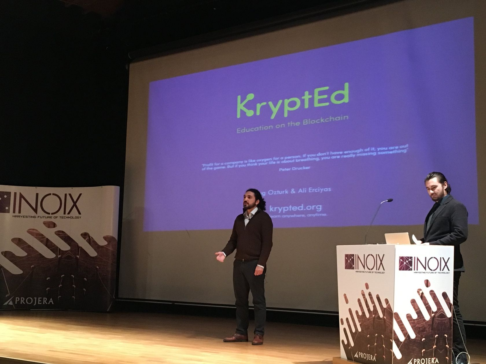Online Eğitim Sektörünün Blockchain Projesi: KryptEd