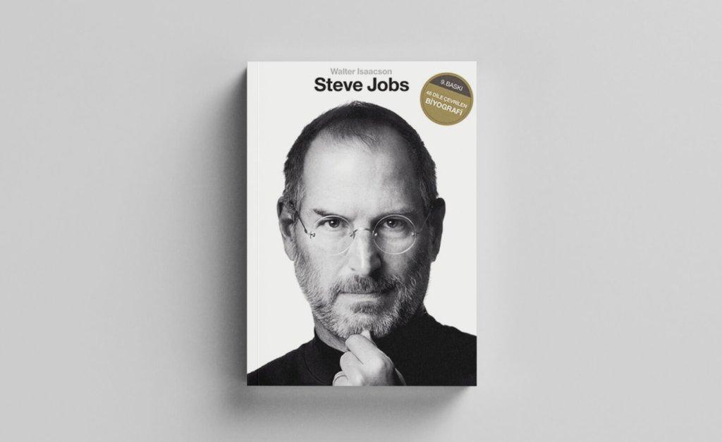 girişimcilerin okuması gereken kitaplar: steve jobs - walter isaacson