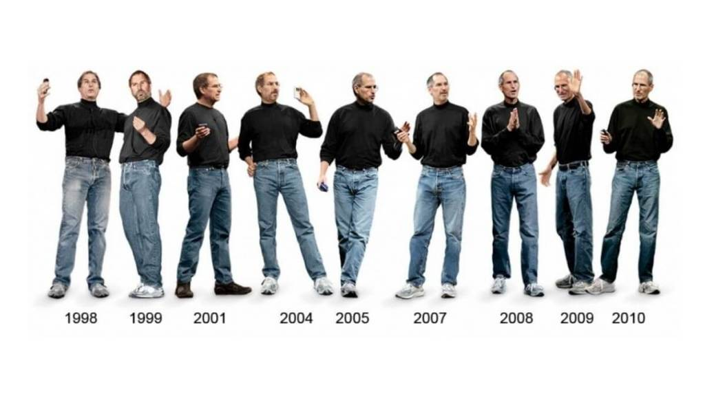 Steve Jobs Aynı Kıyafet