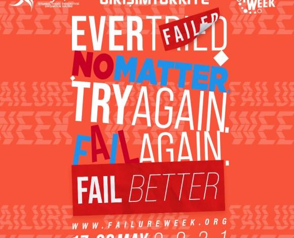 İTÜ Girişimcilik Kulubü'nden 'Failure Week' Etkinliği 17-22 Mayıs'ta!