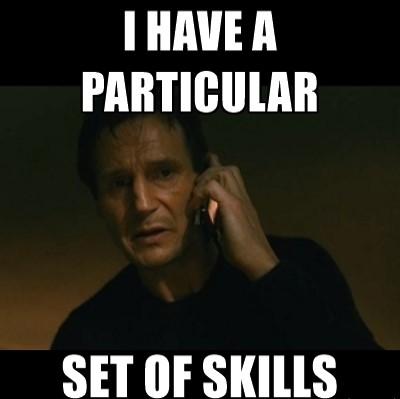 i have skills