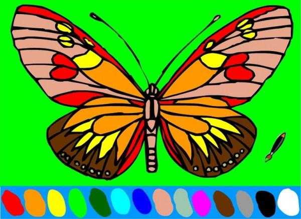 Онлайн раскраски для девочек   Онлайн игры для девочек